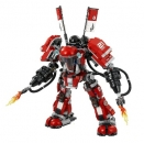 Lego Set 70615 Kai's Feuer-Mech OHNE FIGUREN -- Ninjago Movie --