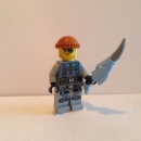 Lego Figur Haimonster Gangster -- Ninjago Movie -- (aus Set 70611)