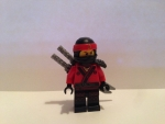 Lego Figur Kai -- Ninjago Movie -- (aus Set 70606)