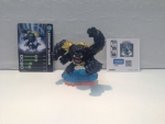Skylanders Figur Legendary Slam Bam + Karte u Sticker --Giants-- EXKLUSIV