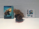Skylanders Level Figur Golden Dragonfire Cannon + Karte u Sticker --Giants-- EXKLUSIV