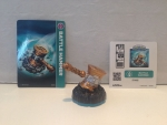 Skylanders Power Up/ Item Figur Battle Hammer + Karte u Sticker --Swap Force--